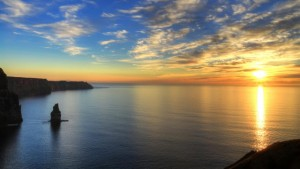 Cliffs-of-Moher-at-sunset